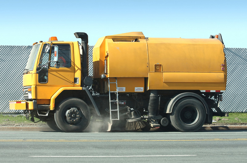 Road sweeper service