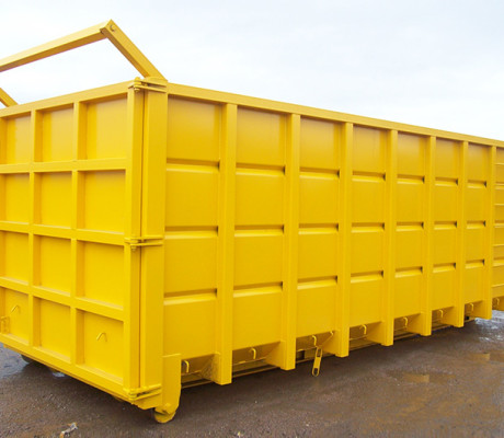 Roll-on/Roll-off containers